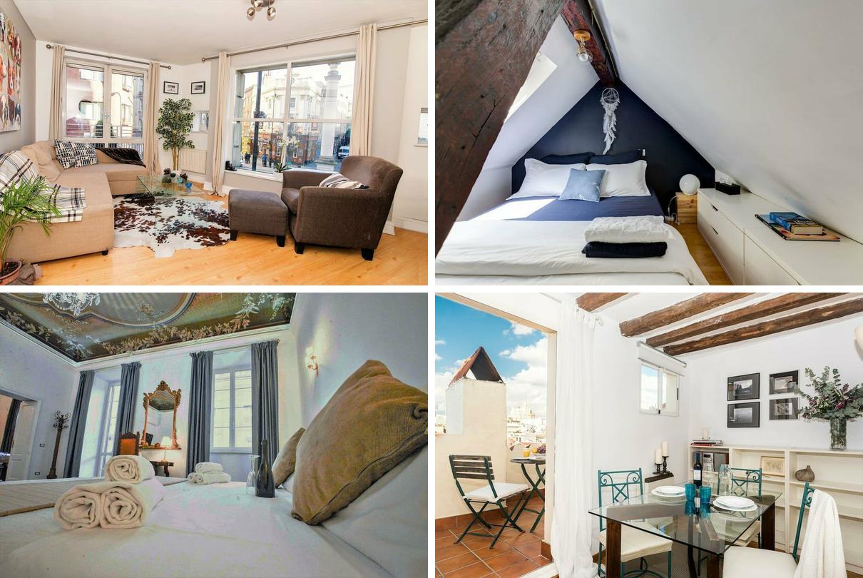 6 apartamentos con encanto en las ciudades m s 39 top 39 del - Pisos decorados con encanto ...
