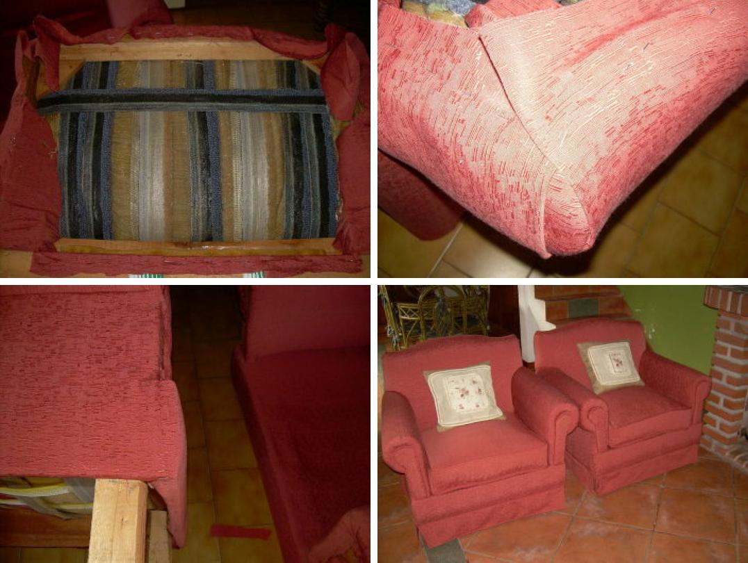 Sillones para tapizar stunning elegir una tela para uso - Telas para tapizar un sillon ...