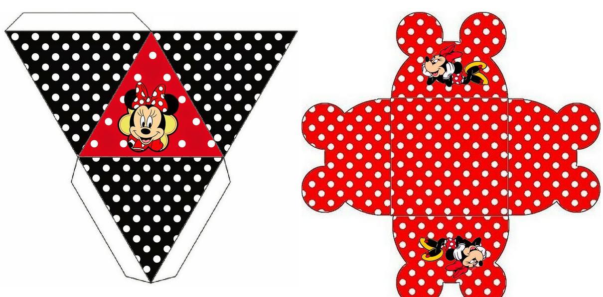 Imprimibles para preparar una preciosa fiesta de Minnie Mouse