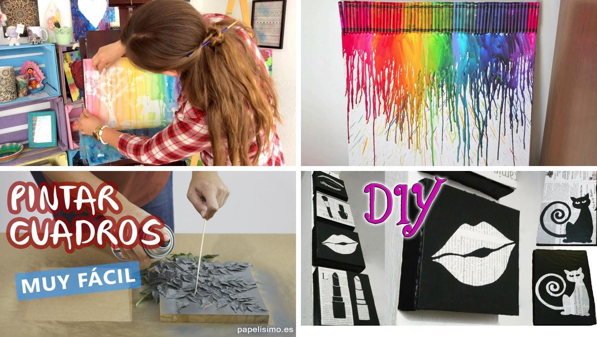 Pintar cuadros modernos paso a paso dise o moderno para for Como hacer cuadros modernos