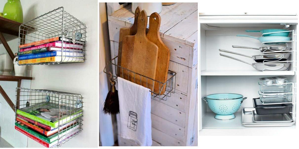 Chill decoraci n trucos para aprovechar el espacio en la - Aprovechar espacio cocina ...