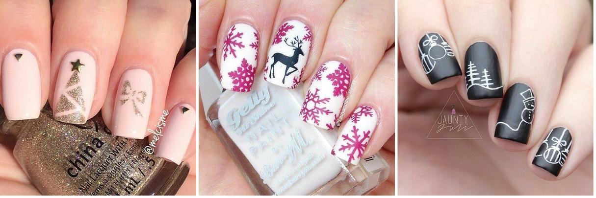 25 diseños para uñas navideñas, ¡no os lo perdáis!